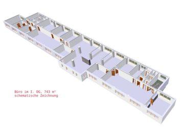 Springe: preiswerte 783 m² Bueroflaeche im Suedwesten der Region Hannover 31832 Springe, Bürofläche